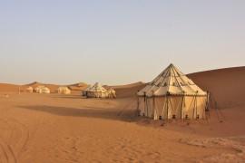 Marokko glamping sahara