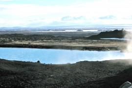 Islanti Myvatn kylpylä
