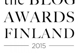 the blog awards Finland
