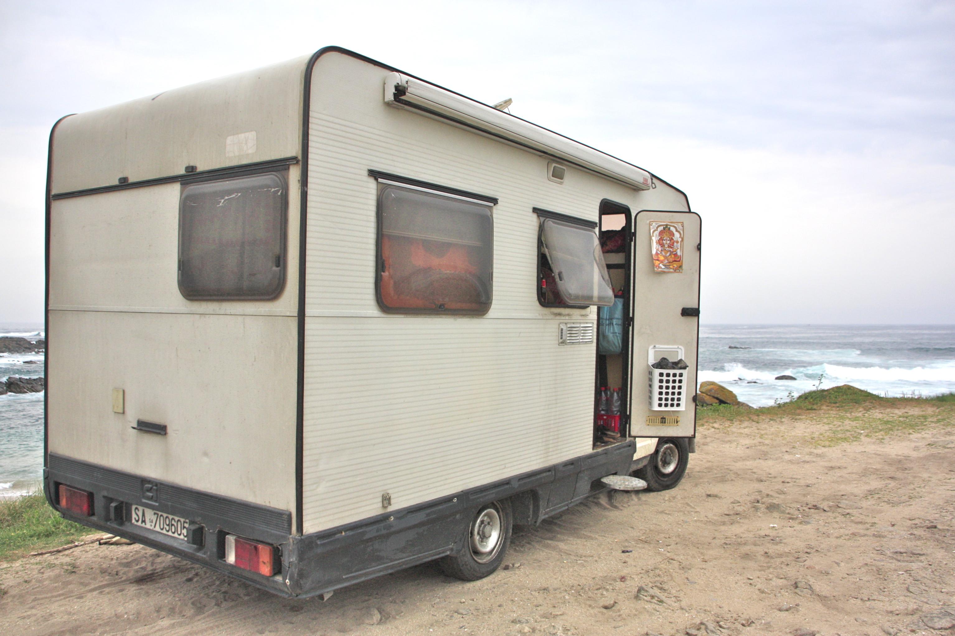 puskaparkki matkailuauto