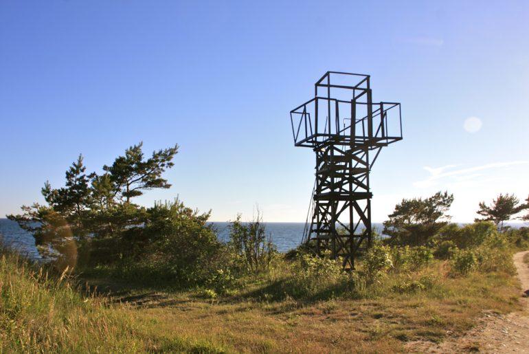 Hiidenmaa Viro hylätty leirintäalue