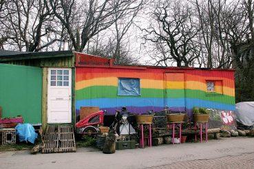 Kööpenhaminan Christiania on värikäs.