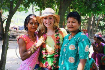 Kirkon ulkomaanapu Nepalissa.