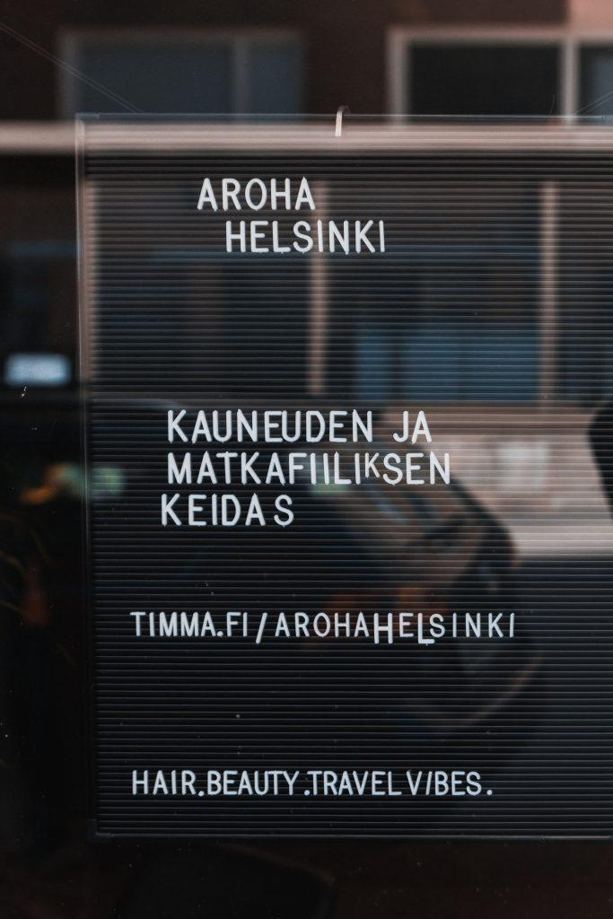Aroha Helsinki kampaamo